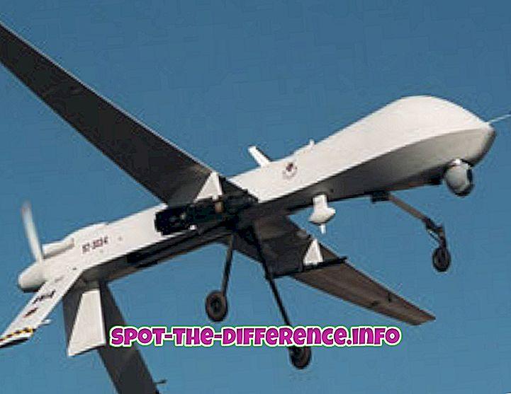 Unterschied zwischen Drohne und RC-Flugzeug