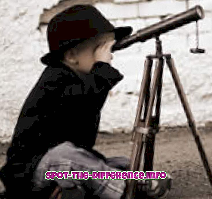 populaire vergelijkingen: Verschil tussen kijken en zien