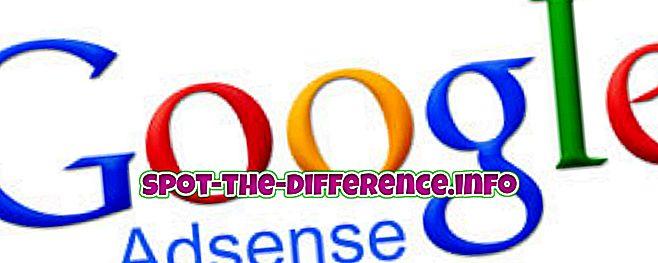 ความแตกต่างระหว่าง Adsense และ Doubleclick