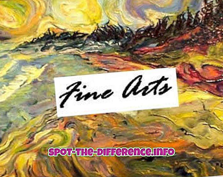 Różnica między sztuką a sztuką
