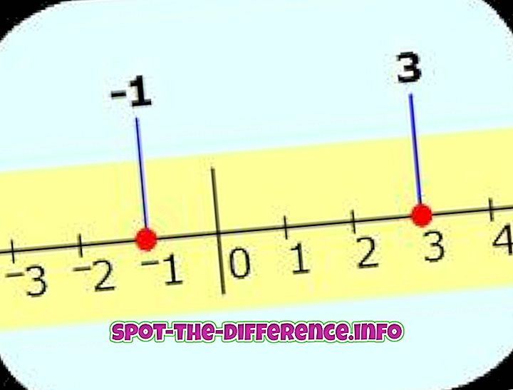 Rozdiel medzi celočíselným a celým číslom
