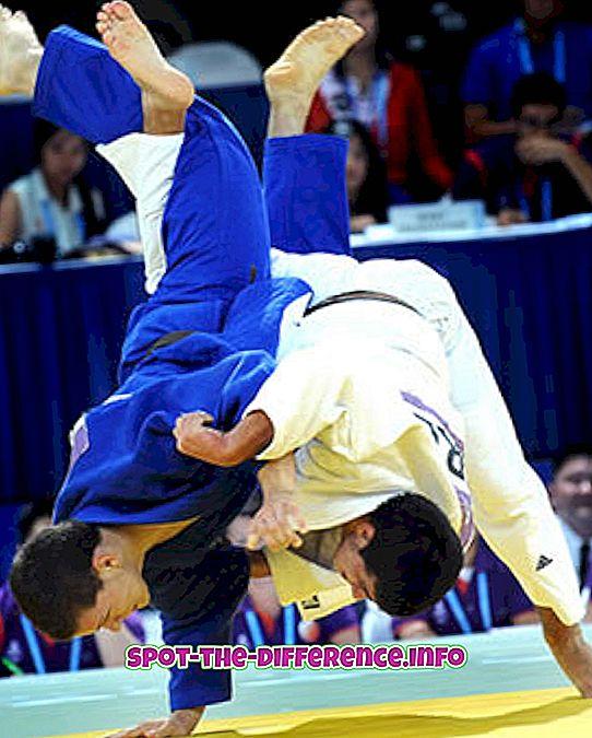 popularne porównania: Różnica między Judo i Jiu Jitsu