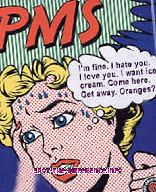 Unterschied zwischen PMS und Schwangerschaftssymptomen