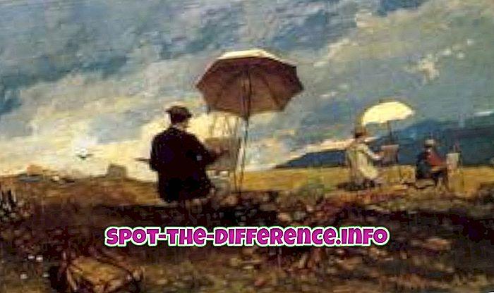 대중적 비교: 아티스트와 아티스트의 차이점