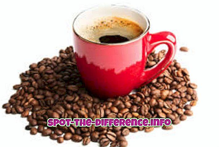 Differenza tra caffè ed espresso