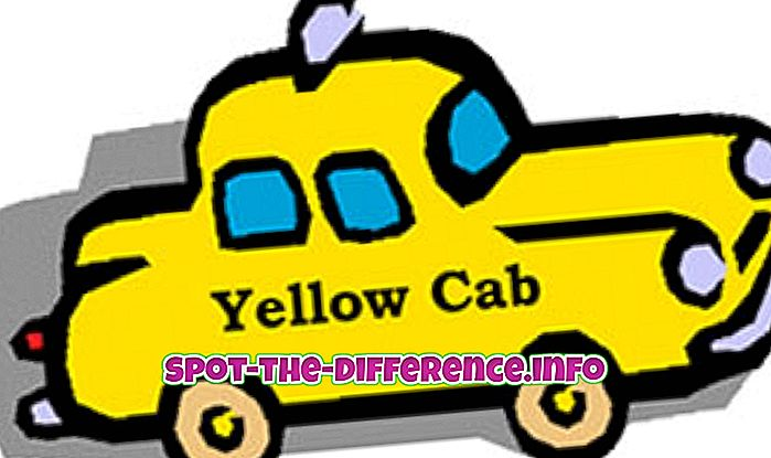 Forskel mellem kabine og taxa