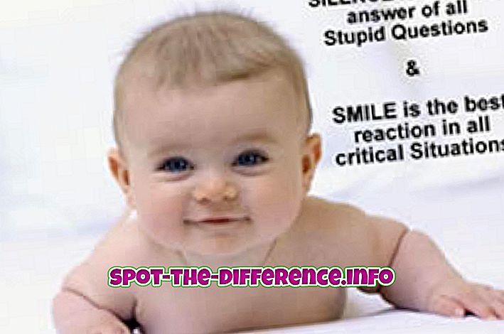 populære sammenligninger: Forskel mellem søde og søde