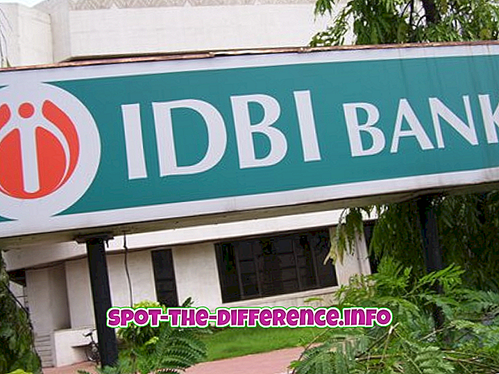 Perbedaan antara Bank Nasional dan Bank Sektor Publik