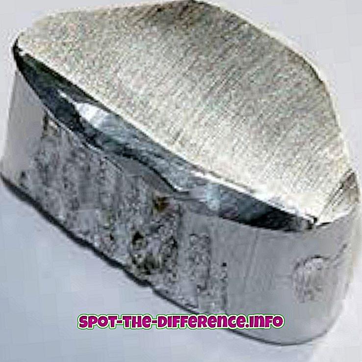 Rozdiel medzi hliníkom a oceľou