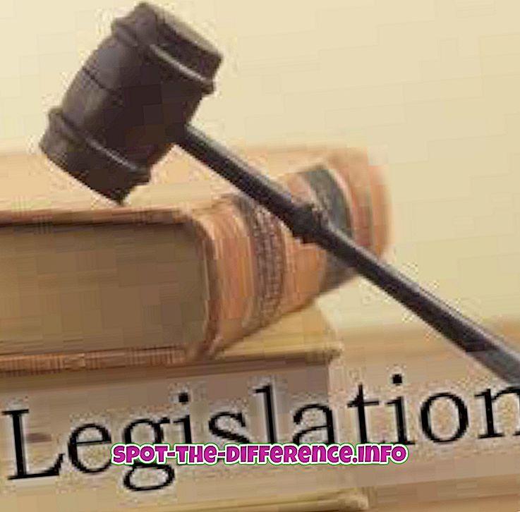 Diferența dintre legislație și litigiu