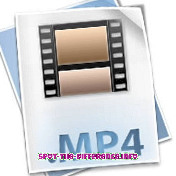 populære sammenligninger: Forskjellen mellom MP4 og FLV