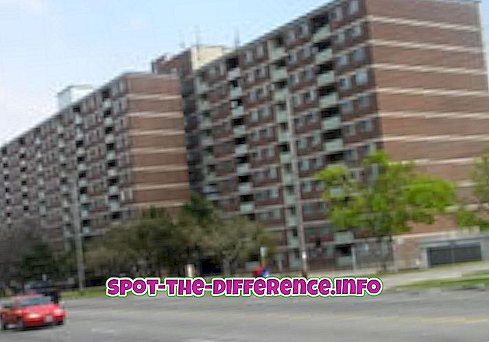 comparaisons populaires: Différence entre unité et appartement