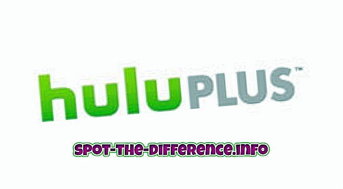 Forskjellen mellom Hulu Plus og Netflix