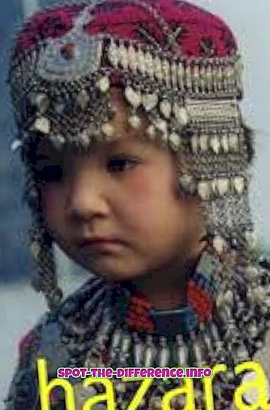 Forskel mellem Hazara og Pashtun