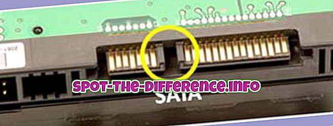 ความแตกต่างระหว่าง SAS และ SATA