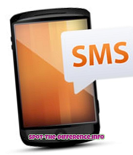 대중적 비교: SMS와 IM의 차이점