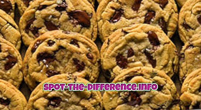 populære sammenligninger: Forskel mellem cookies og kiks