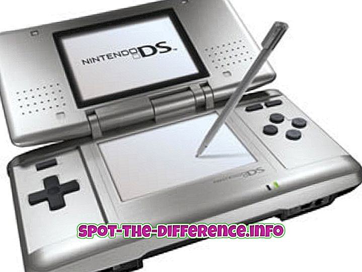 Erinevus Nintendo DS ja DSi vahel
