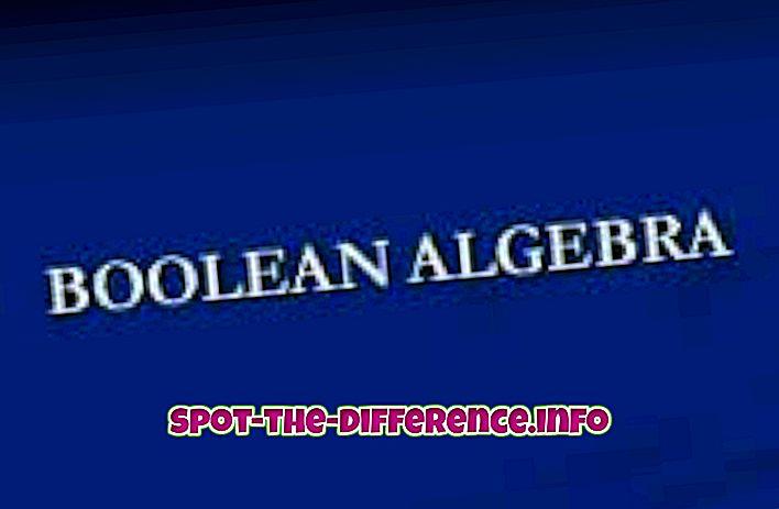 comparații populare: Diferența dintre boolean și binar