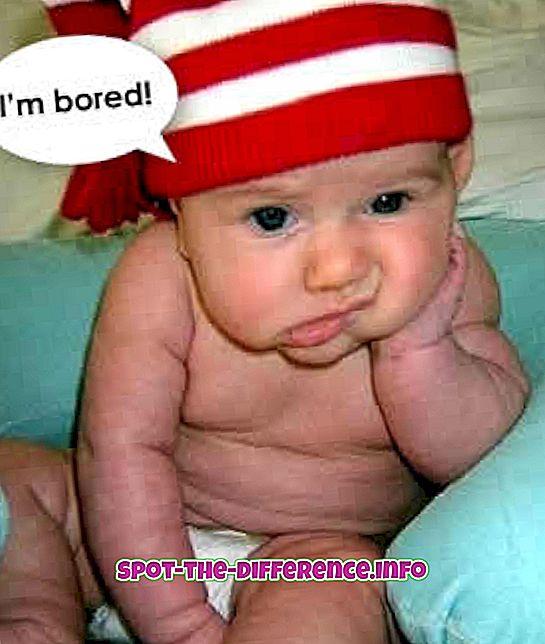 Starpība starp garlaicību un monotoni
