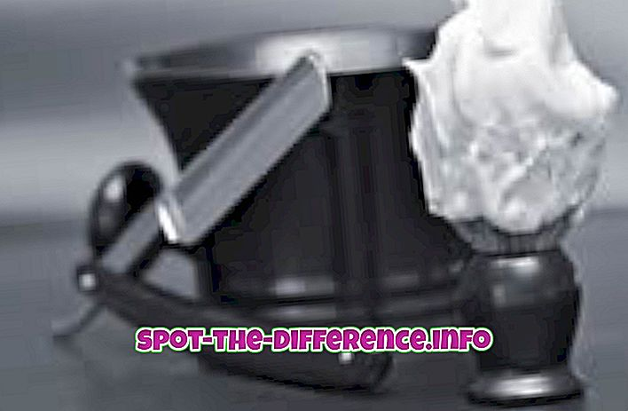 popularne porównania: Różnica między kremem do golenia a żelem do golenia