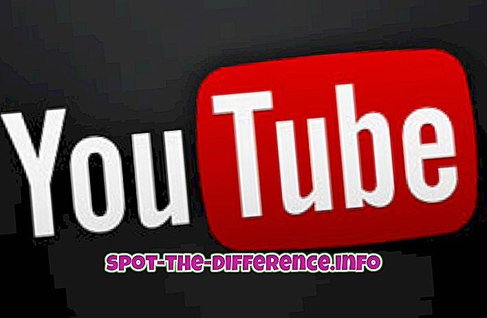Rozdíl mezi YouTube a Vimeo