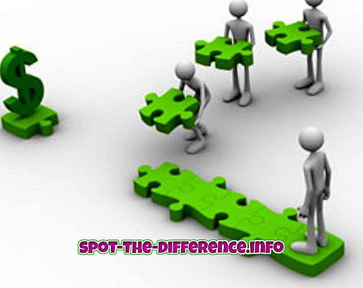 Forskjell mellom inntekt og fortjeneste