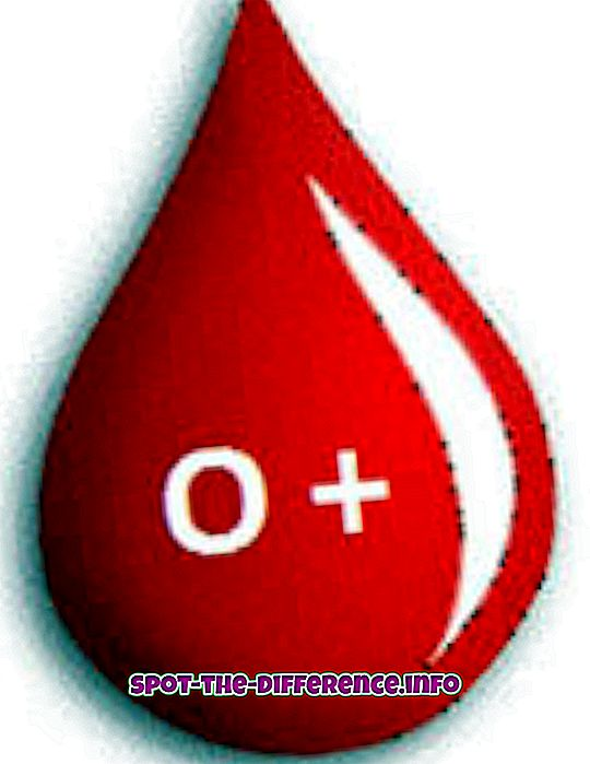 tautas salīdzinājumi: Starpība starp O + un O-Blood Group