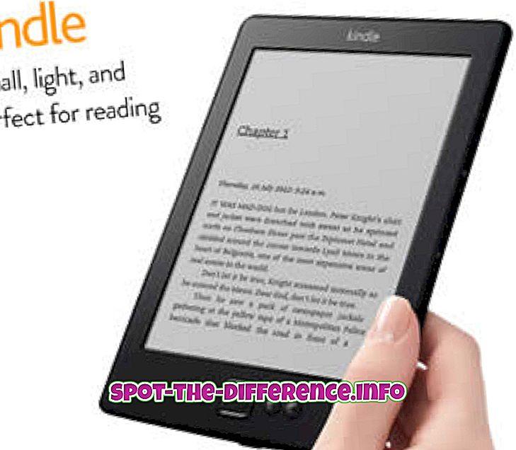 Rozdíl mezi Kindle a Paperback