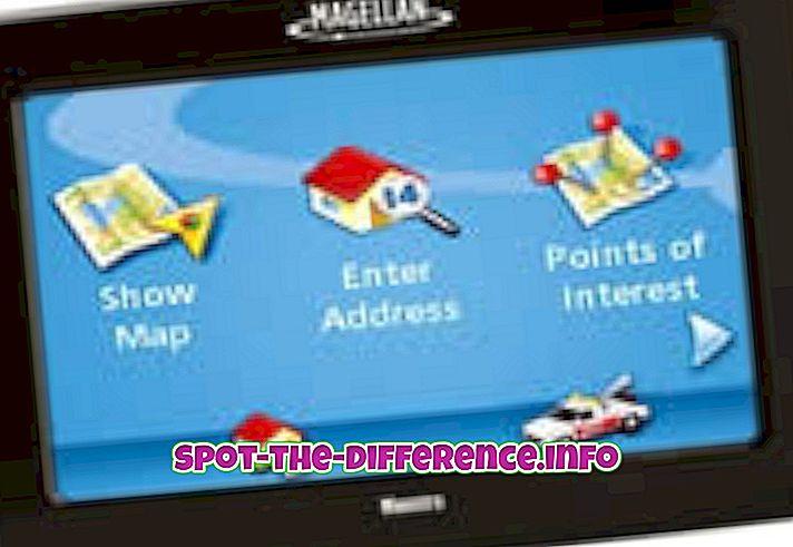 Forskel mellem Maestro og RoadMate