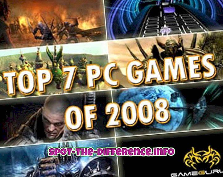 populární srovnání: Rozdíl mezi počítačovými hrami a hrymi PS3