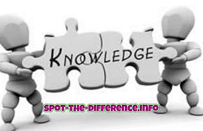 ความแตกต่างระหว่างความรู้และภูมิปัญญา