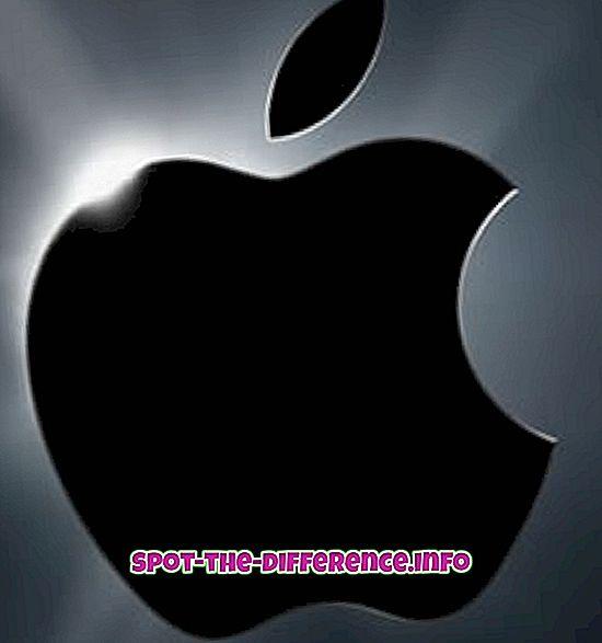 tautas salīdzinājumi: Atšķirība starp Apple un Mac