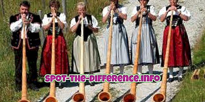 tautas salīdzinājumi: Starpība starp tradīciju un kultūru