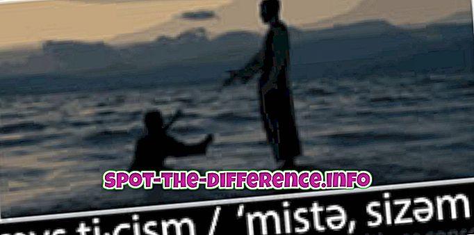 perbandingan populer: Perbedaan antara Mistisisme dan Spiritualitas
