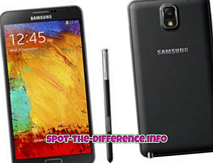Разлика между Samsung Galaxy Note 3 и Note 2