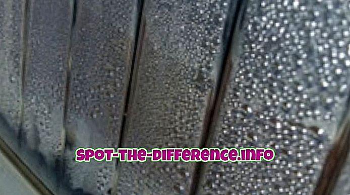 Unterschied zwischen Wasserdampf und Dampf