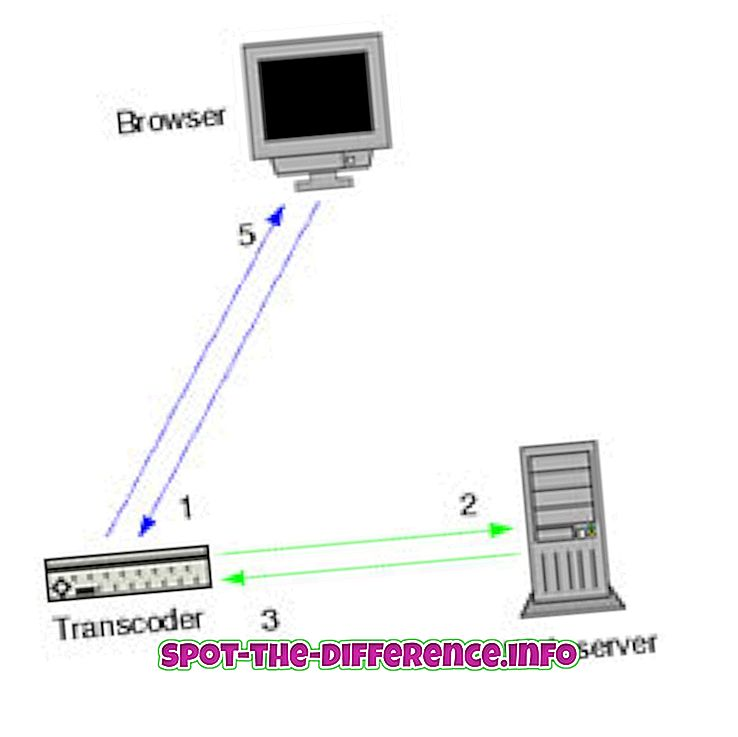 Forskel mellem webserver og webhost