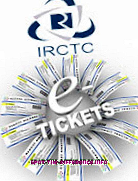 Rozdíl mezi E-Ticket a I-Ticket