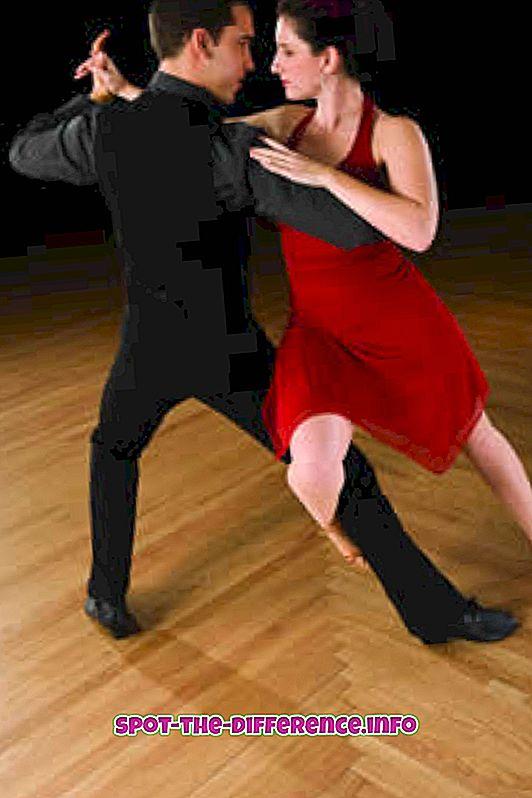 Starp Salsa un Mambo deju atšķirība