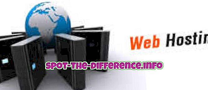 웹 호스팅과 웹 디자인의 차이점