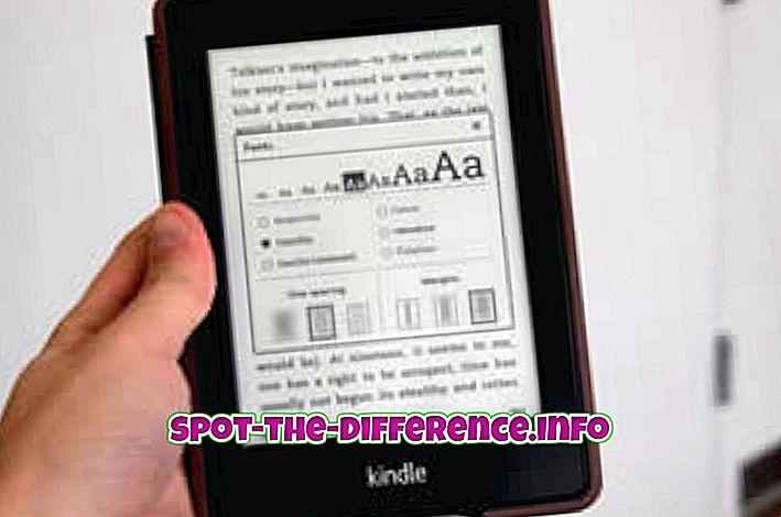 популярни сравнения: Разлика между Kindle и Kindle Fire