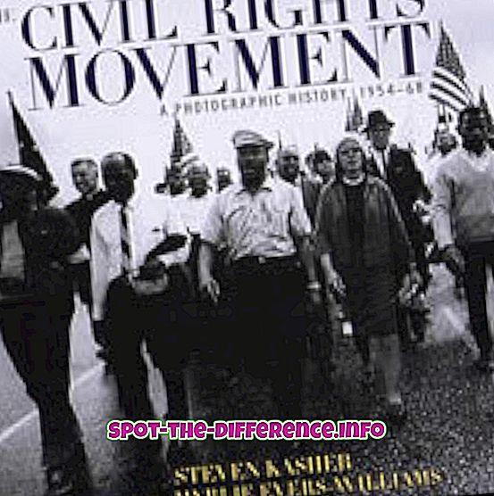 Forskjell mellom sivile rettigheter og sivile friheter