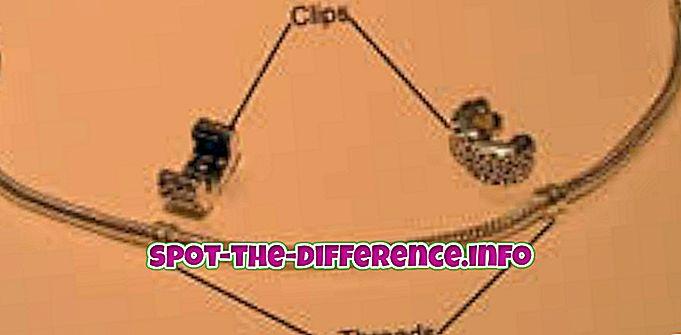 Sự khác biệt giữa Clip và Spacers