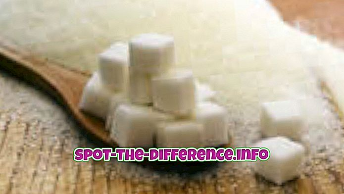 Valge suhkru ja pruunsuhkru erinevus