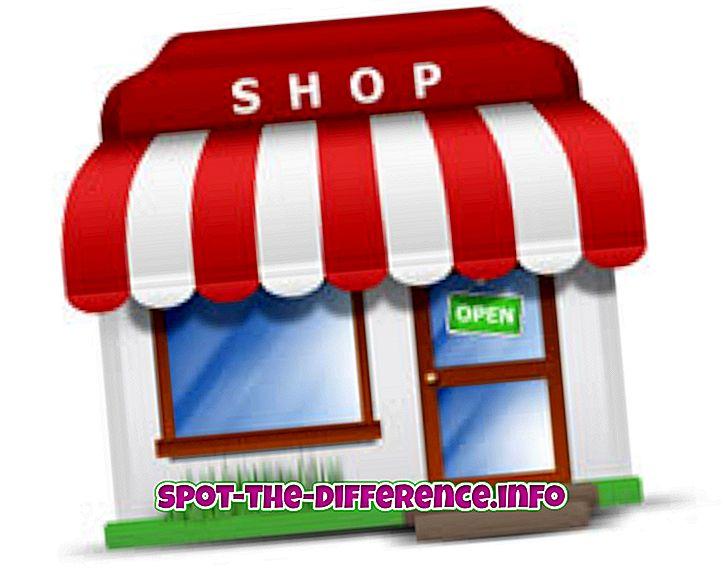 популарна поређења: Разлика између продавца и продавца