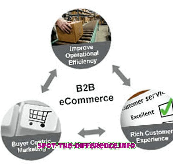 Разница между B2B и B2C