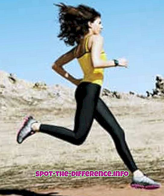 sprint sau jogging pentru arderea grăsimilor
