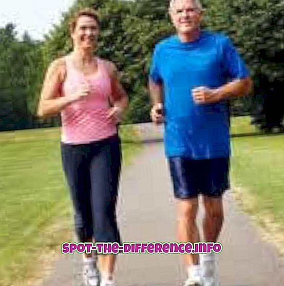 Differenza tra jogging, corsa e sprint