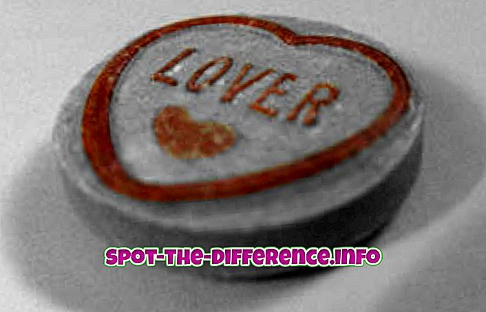 A Lover és a Mistress közötti különbség
